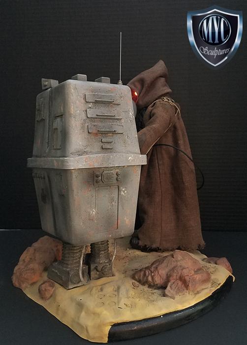 Jawa premium format statue