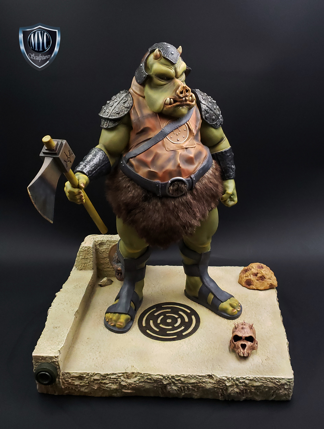 Gamorrean_Guard_MYC_Custom_Statue_19