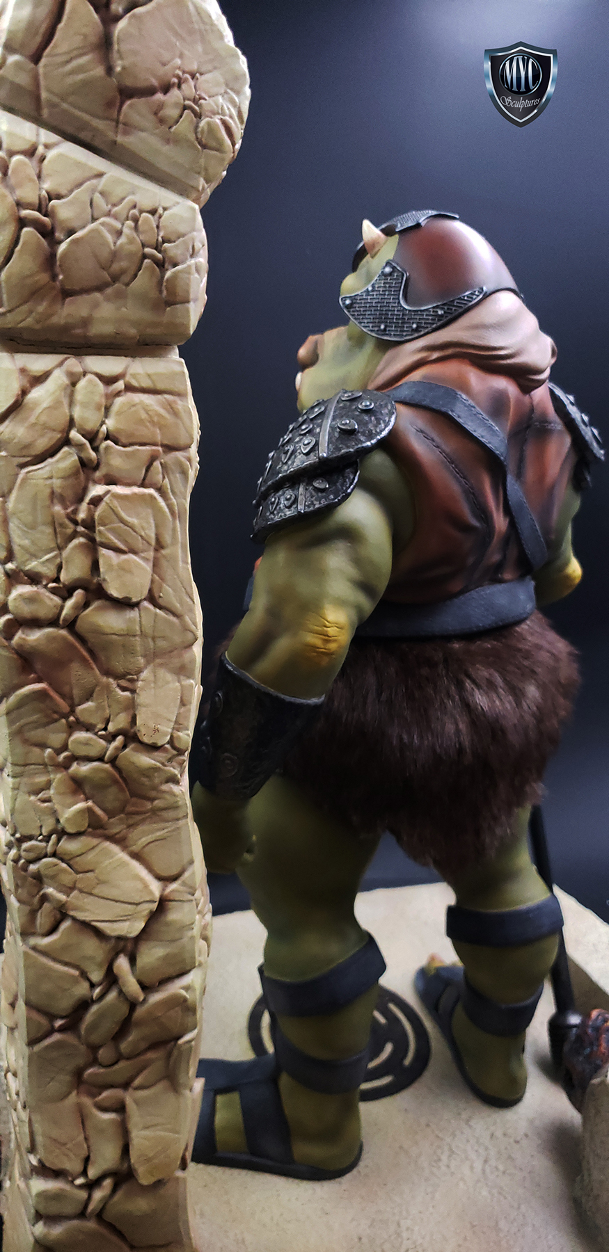 Gamorrean_Guard_MYC_Custom_Statue_23