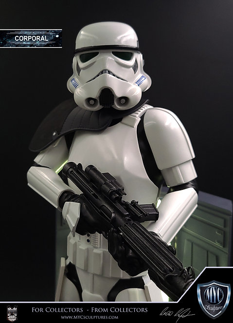 CORPORAL Stormtrooper  1/4 Statue Down Payment