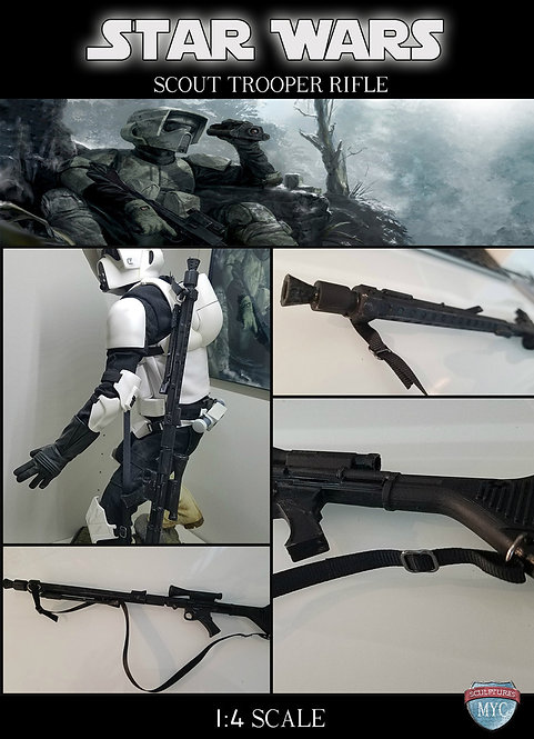 Custom Scout Rifle for Sideshow Premium Format Scout Trooper