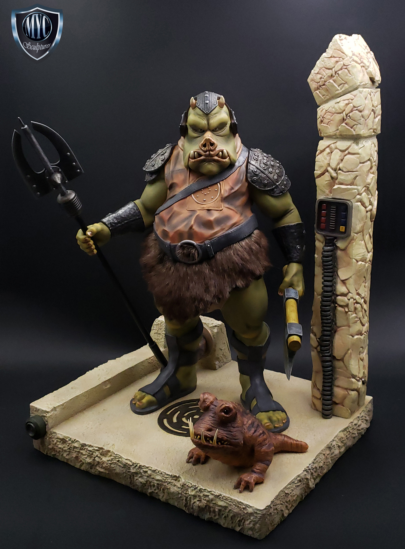 Gamorrean_Guard_MYC_Custom_Statue_24