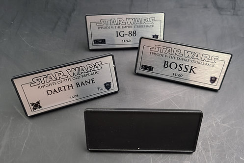 Custom Plaques (with Stands)