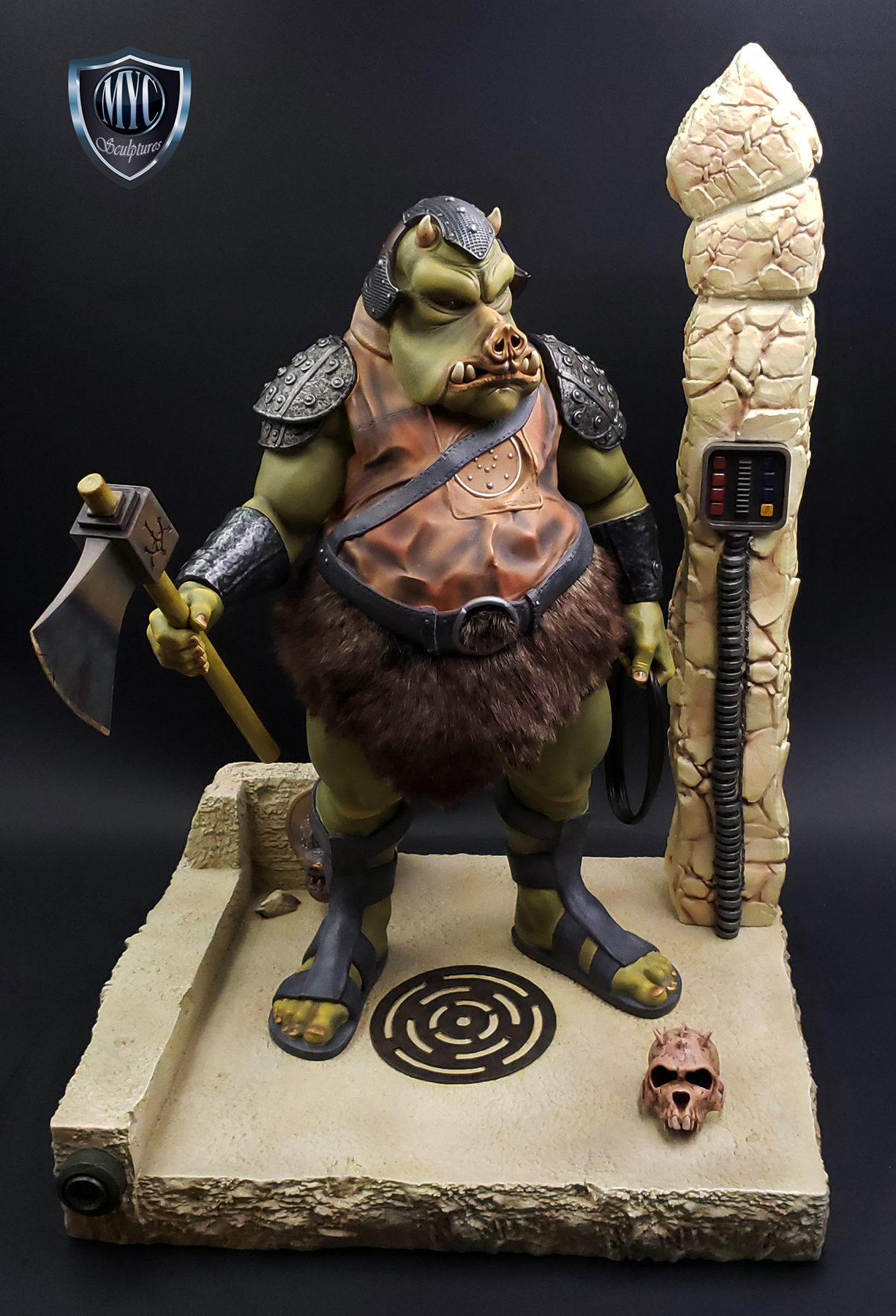 Gamorrean_Guard_MYC_Custom_Statue_20