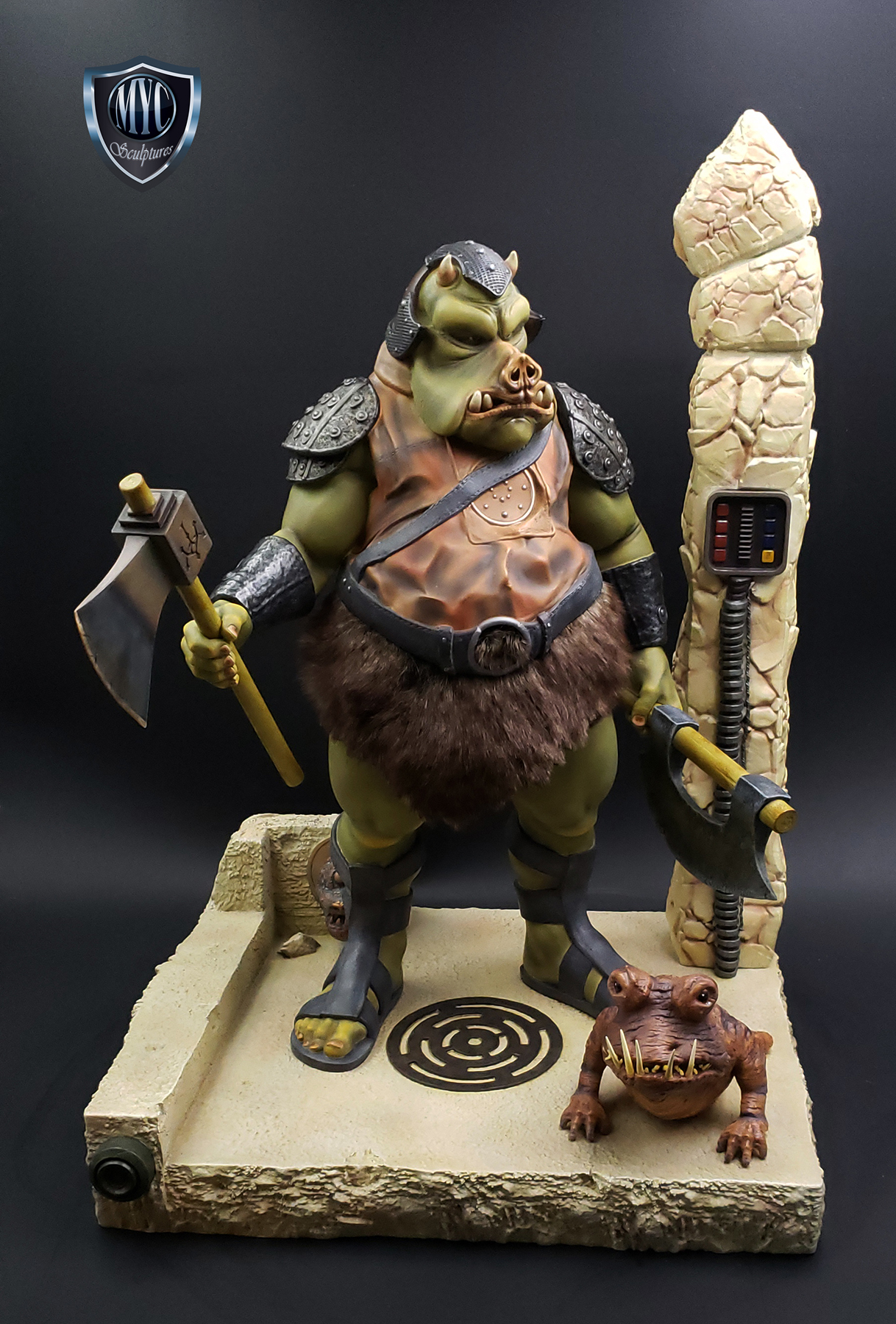 Gamorrean_Guard_MYC_Custom_Statue_21