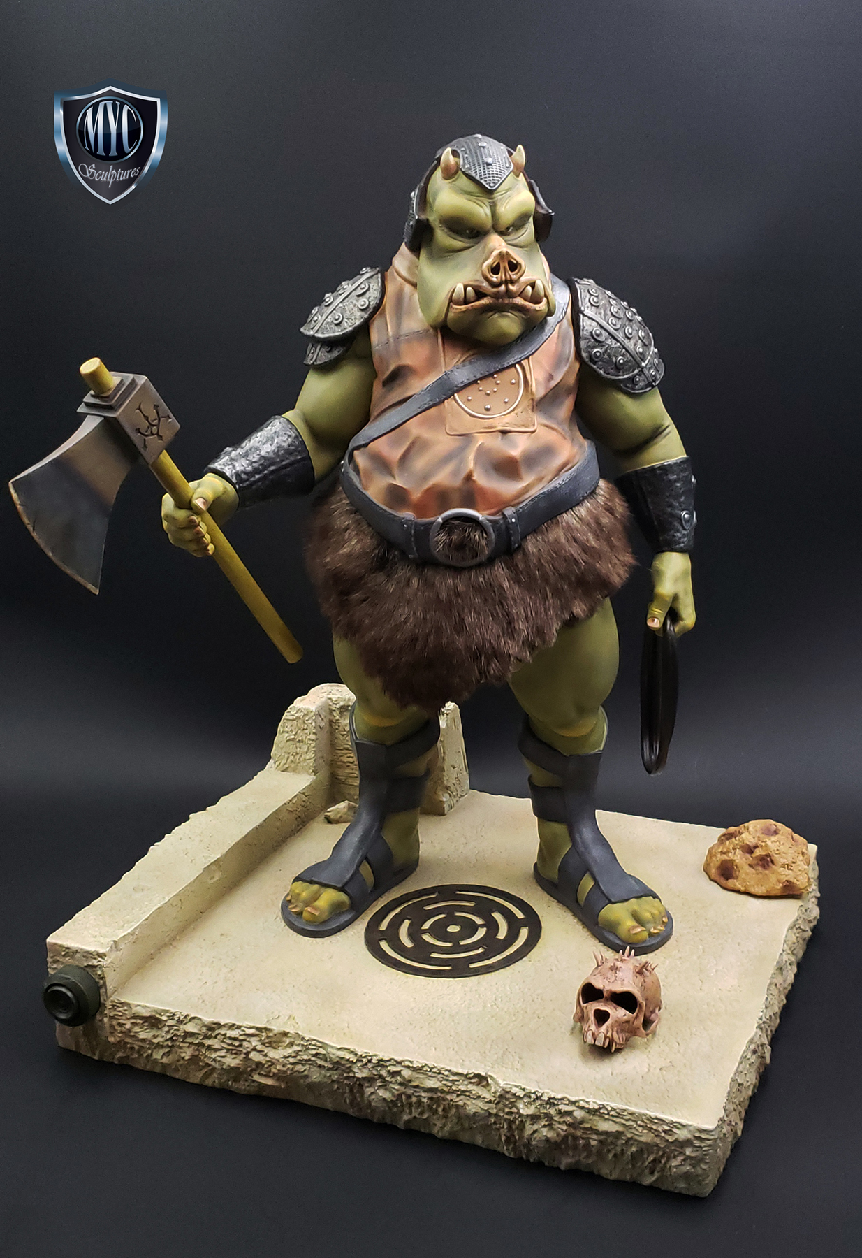 Gamorrean_Guard_MYC_Custom_Statue_22