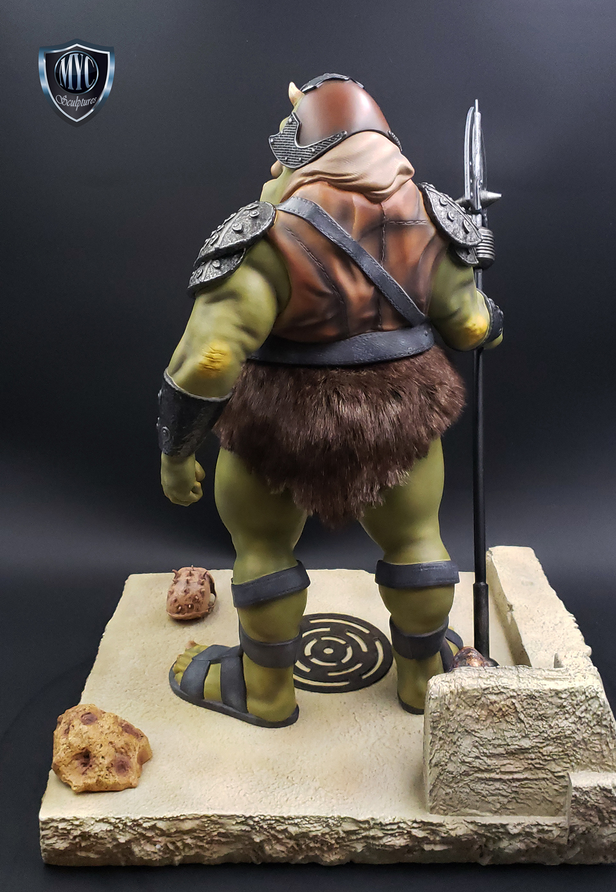Gamorrean_Guard_MYC_Custom_Statue_25