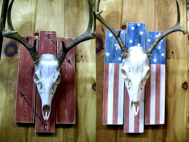 Deer Skull Plaque
