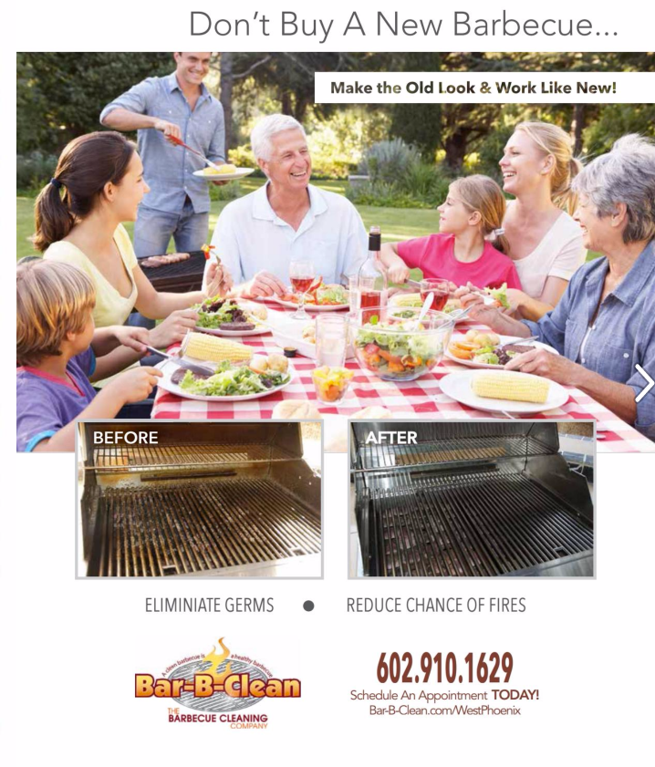 Bar-B-Clean Single-Page Ad