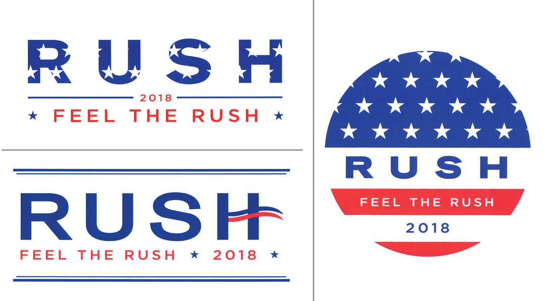 Feel The Rush Logos