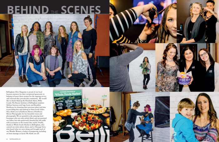 May 2017, Photographed by Shannon Finn Photography (group photo on left, behind photographer viewpoint on right, lady fixing dress on pink-haired woman on right) and Katheryn Moran