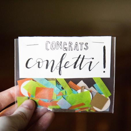 DIY: Congrats Confetti