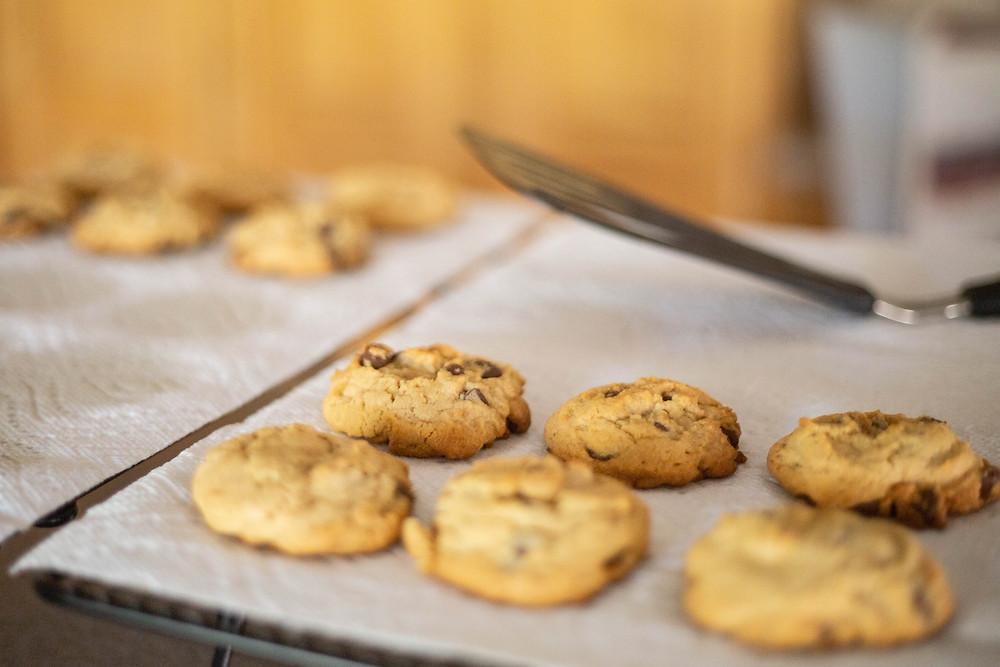 PB Choc Chunk Cookies