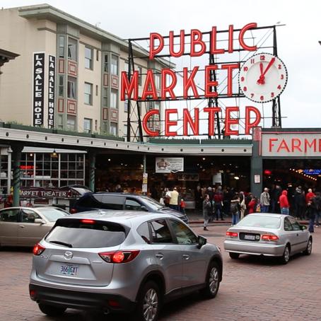 Pike Place Fish Market Video in Progress