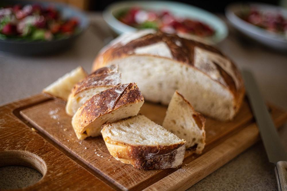 Dill and Cheddar Sourdough Bread