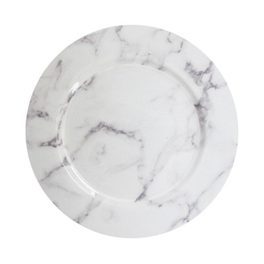 marble white_gray charger plate 13%22, B