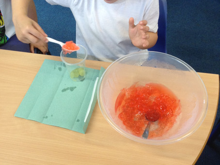 Making trifle in Year 1