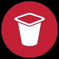 Logotipo de piezas de repuesto de proceso de alimentos UM