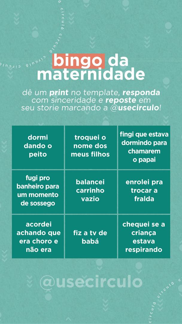 bingo maternidade circulô por mudda