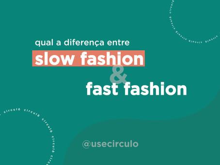 A diferença entre slow fashion e fast fashion:  quais os benefícios de adotar um consumo consciente?