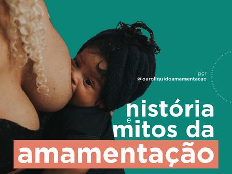História e mitos da amamentação.