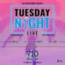 live music every Tuesday night at 710 Beach Club in San Diego, California