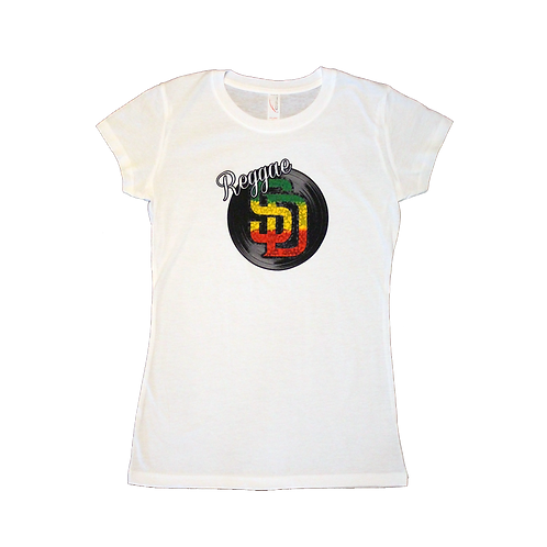 White Reggae SD Shirt (Womens)
