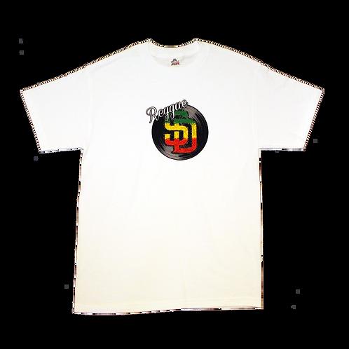 White Reggae Shirt (Mens)