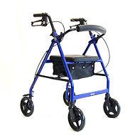 days-folding-four-wheel-aluminium-walker