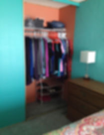Voilà! Organizing Services Penticton - AFTER PHOTO - A great Laudry Room & Coset Cleanup - Professional Organizer