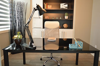 Voilà! An Orderly Home Office - Office Organizing - Professional Organizer Penticton
