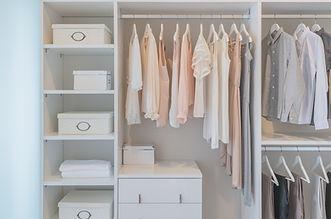Voilà! A Great Coset Cleanup - Organizing Closets Penticton - Professional Organizer