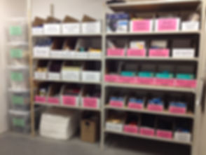 Voilà! Organizing Services Penticton - AFTER PHOTO Safety/Tools Supplies Storage Area - Profesional Organizer
