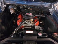 1975-Holden-Monaro-HJ GTS-Sedan-Engine-V8
