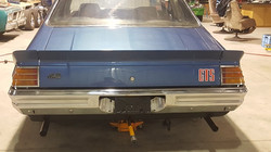 1975-Holden-Monaro-HJ GTS-Sedan-Rear
