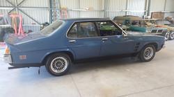 1975-Holden-Monaro-HJ GTS-Sedan-Side-View