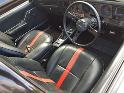 1975-Holden-Monaro-HJ GTS-Sedan-Interior-Black-Red-trim