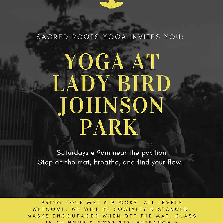 Yoga at Lady Bird Johnson Park