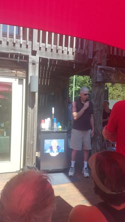 Stu Abramson dedicates Kegerator