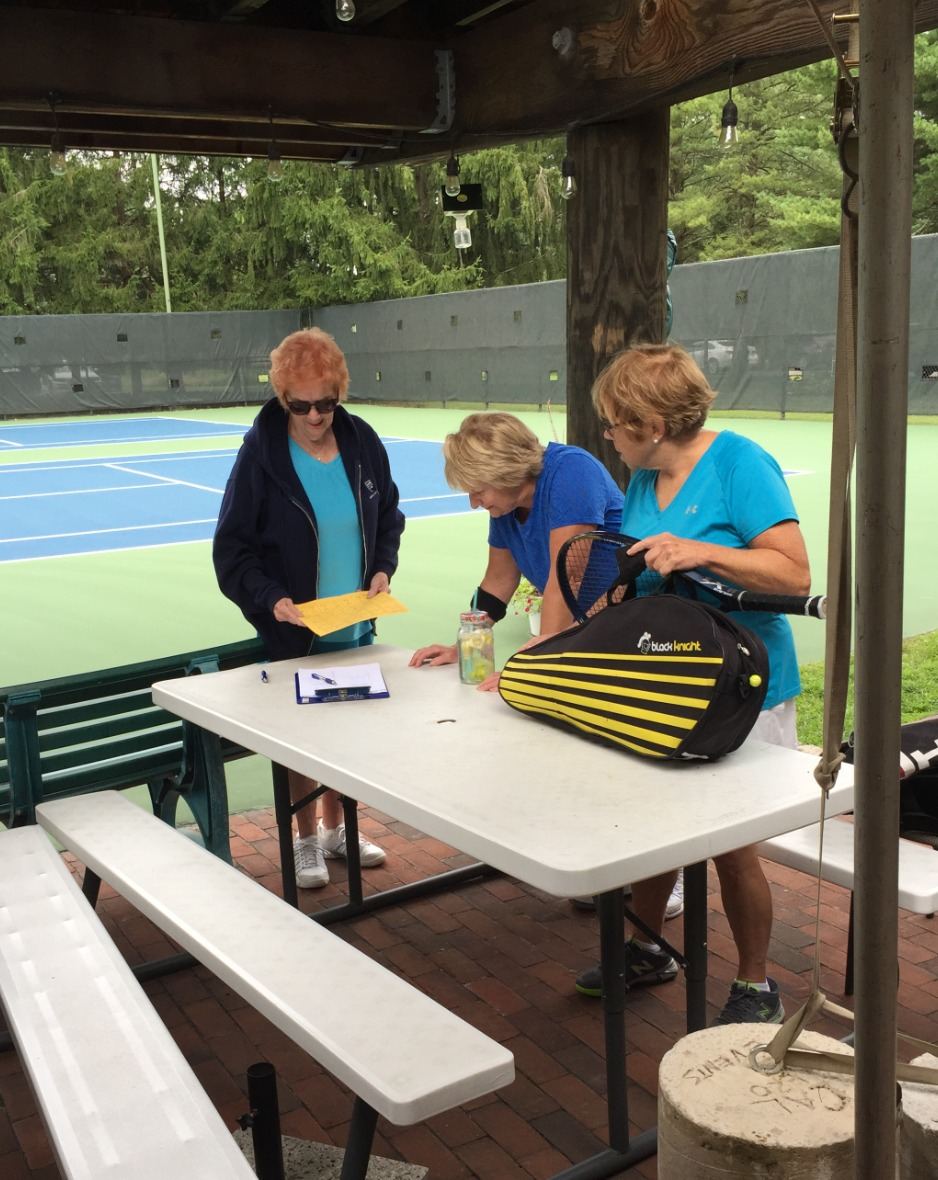 Seniors Tennis Match September 15