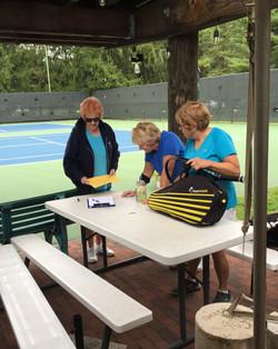 Seniors Tennis Match September 15