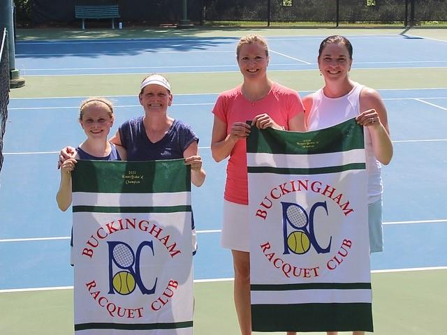 Women's A Finalists