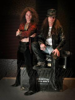Johnny Angel Black & Ray Childs