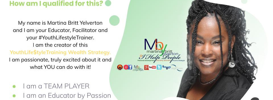 Youth Life$tyle Trainer Founder Martina