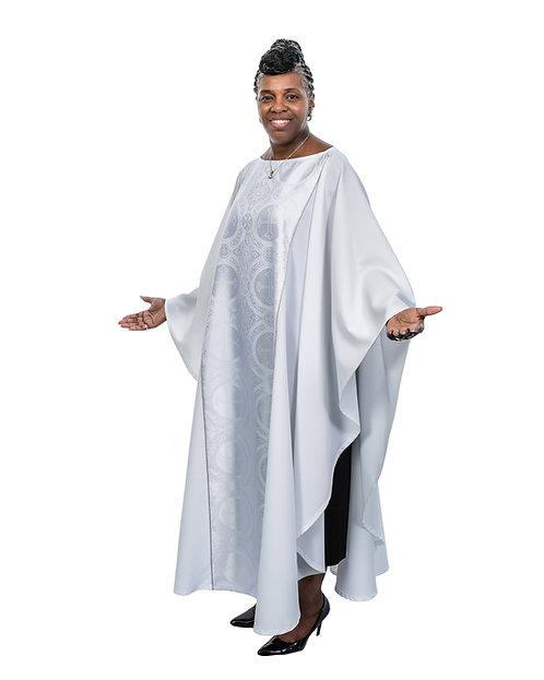White Ministry Drapes
