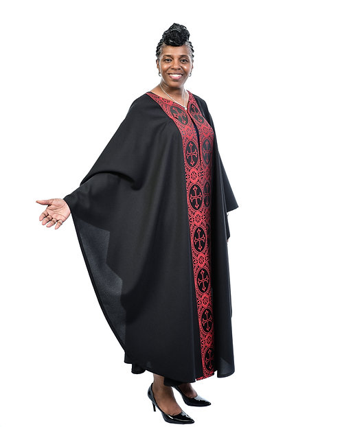 Red/Black Ministry Drapes