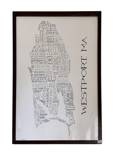 Framed Westport Print