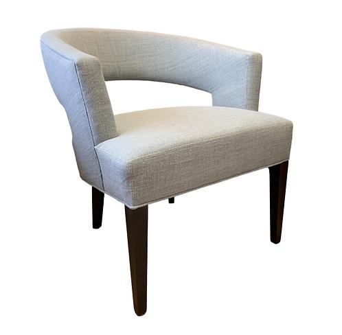 Green Linen Chair