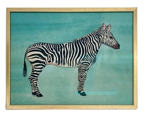 Zebra Print, Framed