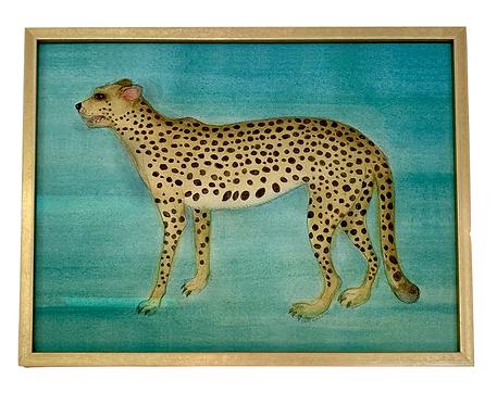 Cheetah Print, Framed